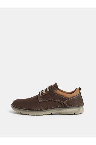 Hnědé pánské kožené boty Weinbrenner