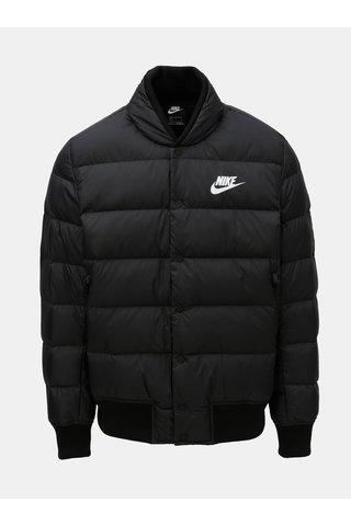Jacheta barbateasca neagra matlasata de puf Nike Fill