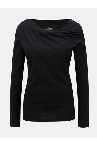 Tricou negru cu maneci lungi SKFK Bi