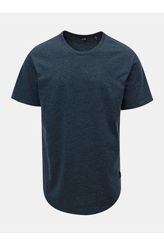 Tricou albastru melanj basic ONLY & SONS Matt