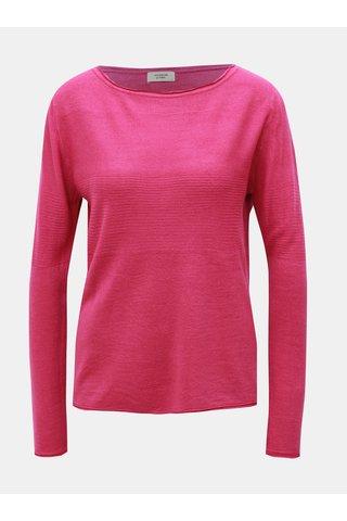 Pulover roz inchis Jacqueline de Yong