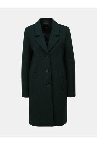 Pardesiu verde inchis din lana Selected Femme Sasja