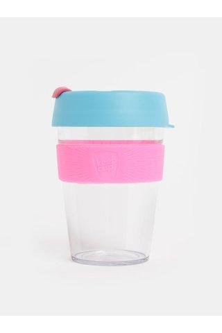 Cana roz-albastru de calatorie KeepCup Original medium 340 ml