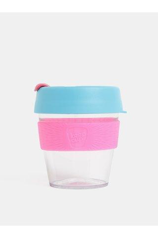 Cana roz-albastru de calatorie KeepCup Original small 227 ml