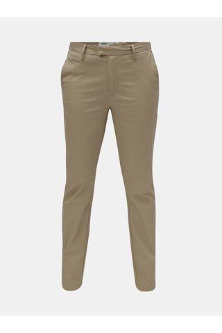 Pantaloni barbatesti bej Burton Menswear London