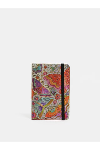 Agenda saptamanala 2019 mini rosu-mov Paperblanks Flutterbyes