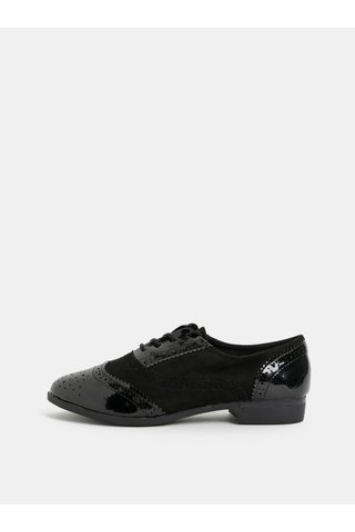 Pantofi negri lucios Dorothy Perkins Louisa