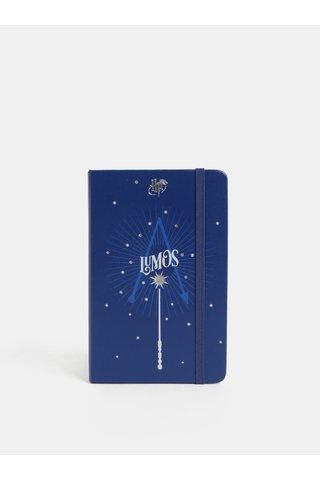 Agenda zilnica 2019 mini albastra cu motiv Harry Potter Moleskine