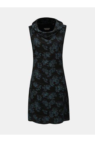 Rochie albastru-negru fara maneci SKFK