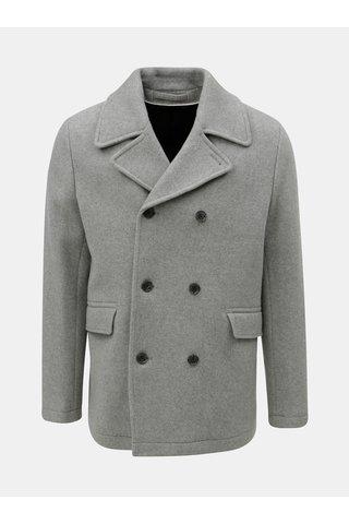 Jacheta gri din lana Selected Homme