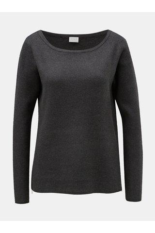 Tmavě šedý svetr VILA Ril