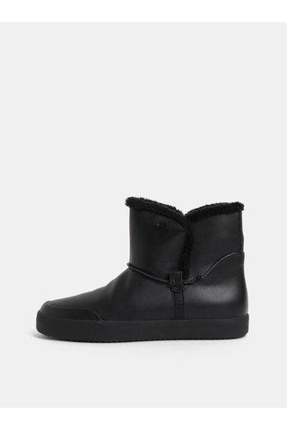 Černé dámské zimní kotníkové boty Geox Blomiee