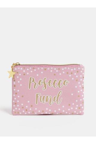 Geanta de cosmetice roz de dimensiuni reduse Sass & Belle