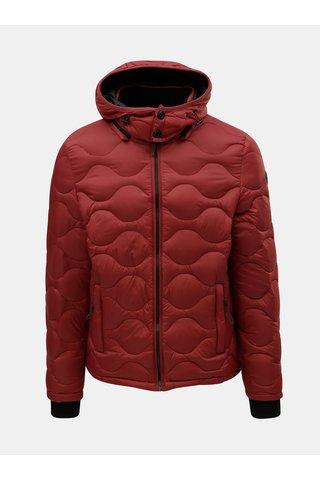 Jacheta rosie matlasata lejera de puf Dstrezzed