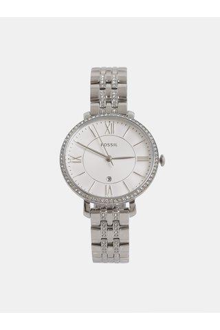 Dámské hodinky ve stříbrné barvě Fossil Jacqueline