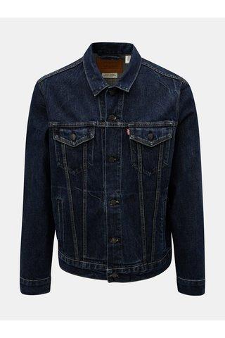Jacheta barbateasca albastru inchis din denim Levi's® Barrow