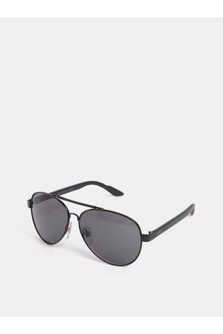 Černé sluneční brýle Jack & Jones Fast
