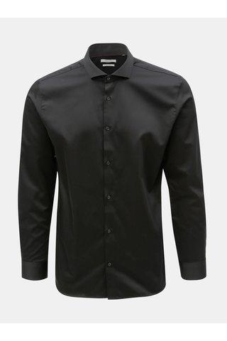 Camasa neagra comfort fit Jack & Jones Comfort