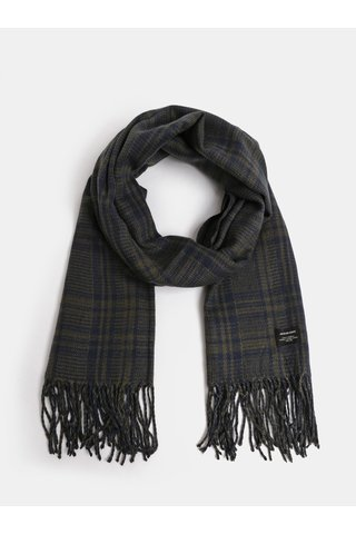 Fular albastru-verde tartan Jack & Jones Checked