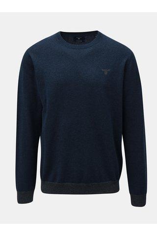 Modrý pánský svetr s příměsí vlny GANT
