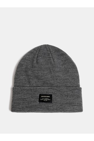 Caciula gri impletita de iarna Jack & Jones DNA