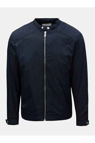 Jacheta albastru inchis lejera Selected Homme
