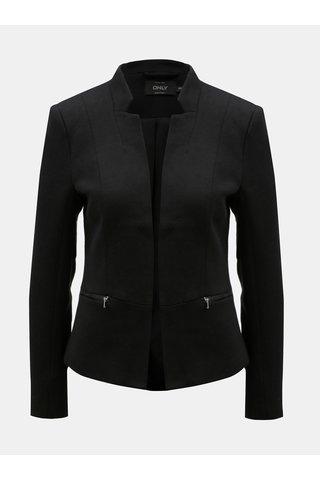 Černé sako s kapsami ONLY Story Maddy