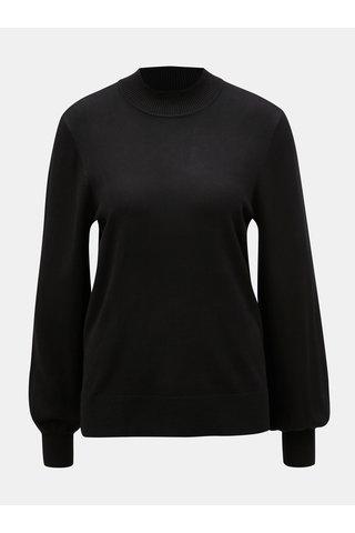Černý svetr se stojáčkem Yest