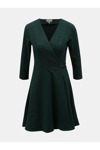 Rochie verde inchis suprapusa Apricot