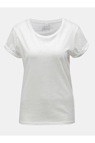 Tricou de dama alb cu motiv mana ZOOT Original Namasté