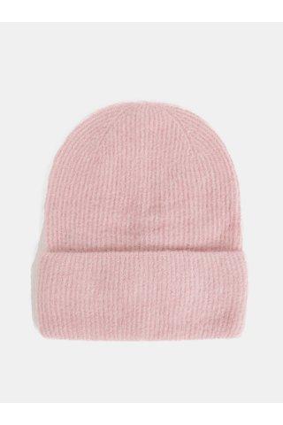 Caciula roz din lana Pieces Josefine