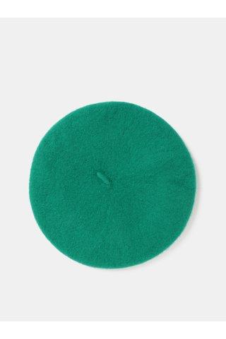 Bereta verde din lana Pieces French
