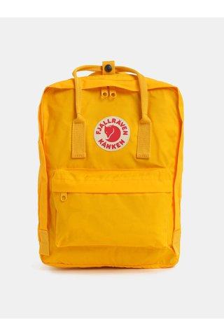 Žlutý voděodolný batoh Fjällräven Kånken 16 l