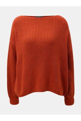 Oranžový oversize svetr French Connection