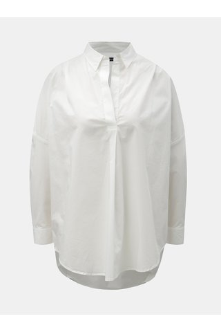 Bílá oversize košile French Connection