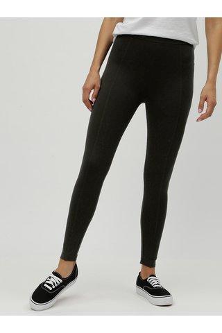 Leggings negru cu talie inalta M&Co