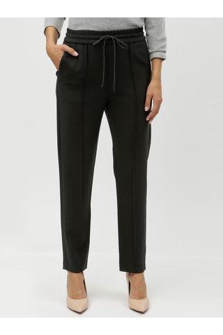 Černé kalhoty s elastickým pasem French Connection