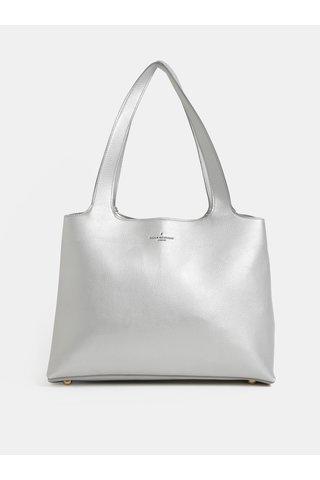 Geanta mare argintie din piele sintetica Paul's Boutique Roxy