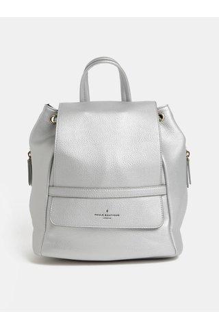 Koženkový batoh ve stříbrné barvě Paul's Boutique Charlie