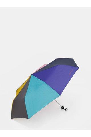 Umbrela pliabila roz-mov Esprit Mini Alu