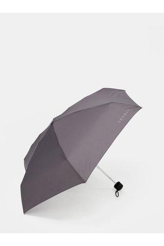 Umbrela pliabila gri Esprit Petito excalibur