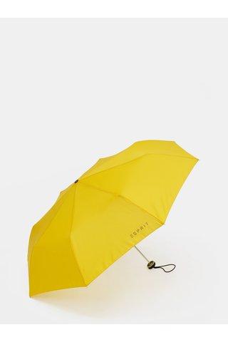 Umbrela pliabila galbena Esprit Mini Alu