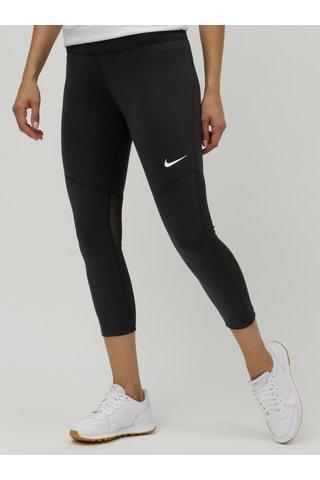 Leggings de dama negru cu detalii tranclucide Nike Fly Victory