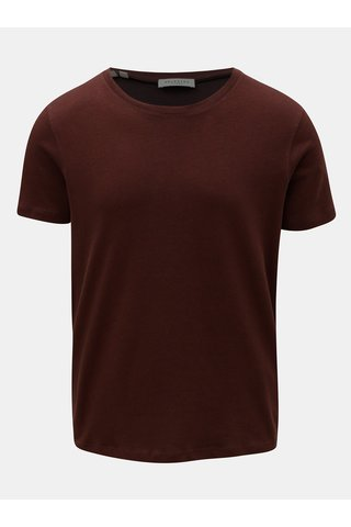 Vínové tričko s krátkým rukávem Selected Homme Clinton
