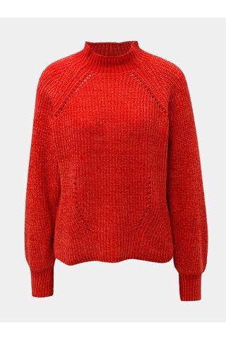 Červený svetr se stojáčkem Jacqueline de Yong