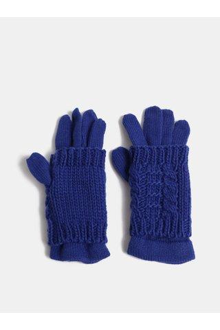 Tmavě modré rukavice s odnímatelným návlekem 2v1 ONLY Thona