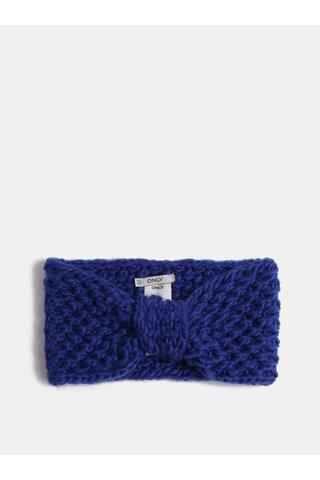 Bentita albastru inchis de iarna ONLY Thona