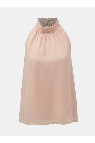 Bluza roz fara maneci VERO MODA Soffie