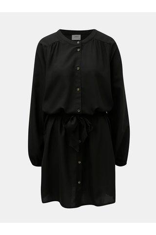 Černé košilové šaty Jacqueline de Yong