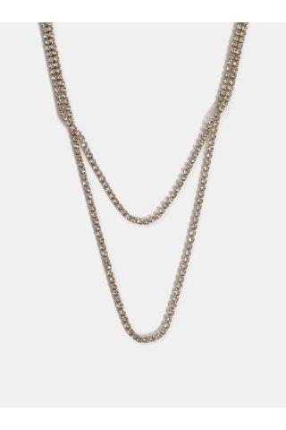 Colier auriu cu pietre Pieces Katarina